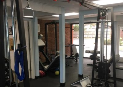 Fitness Quest Physical Therapy Downtown Sarasota Gym Area
