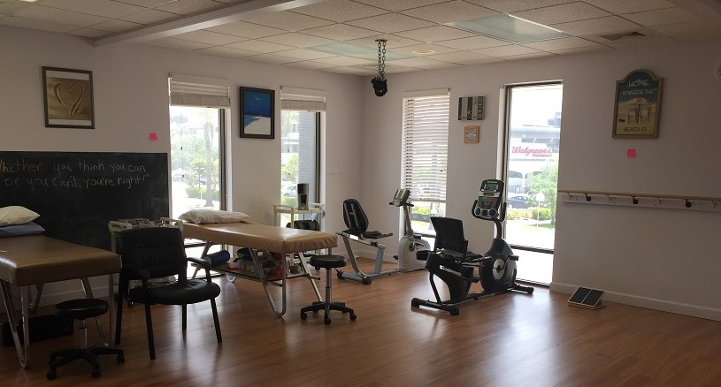 physical therapy venice interior view