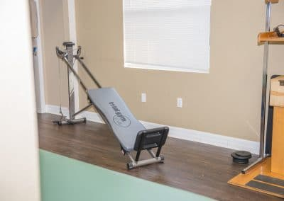 Total Gym in physical therapy clinic