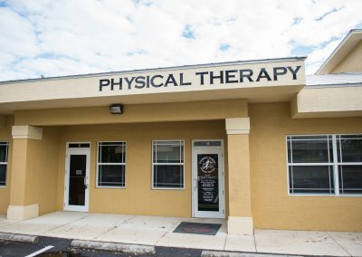 Outside building of physical therapy office in North Port Florida