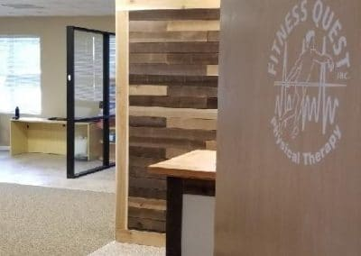 Physical Therapy office Fort Myers Florida front entryway to clinic