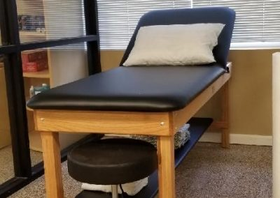Physical Therapy office Fort Myers Florida treatment room