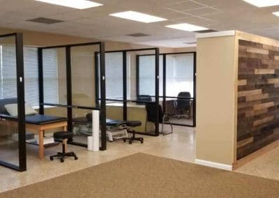 Physical Therapy office Fort Myers Florida clinic treatment area