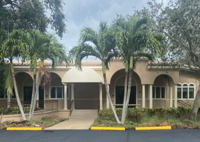 Outside of Physical Therapy building located at 540 Bay Isles Rd Longboat Key Florida
