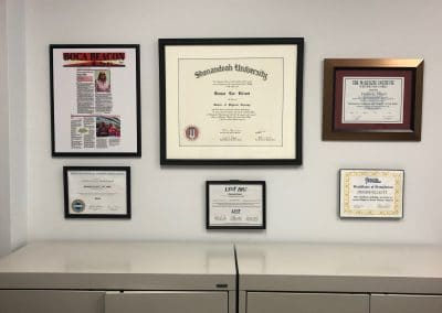 physical therapy clinician education and training certificates