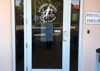 Physical Therapy Clinic Boca Grande Florida Entrance to building