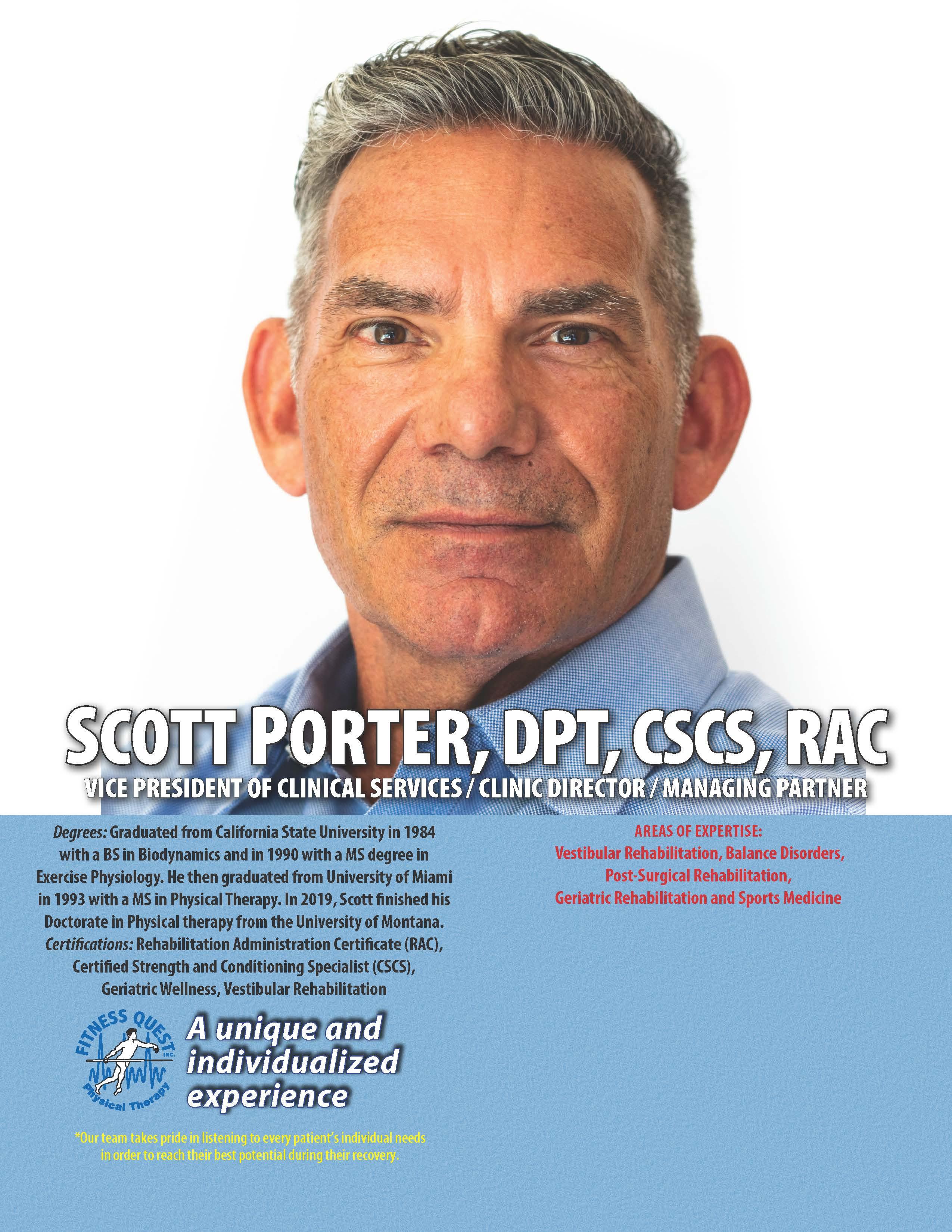 Male Physical Therapist Palmer Ranch Sarasota Florida